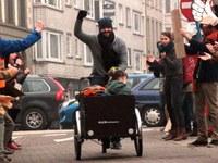 Clap au vélo sur l'avenue Crocq - Evénement reporté