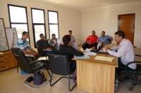 Réunion avec les responsables de la commune, Belfaa, Maroc