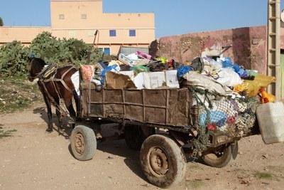 Sidi Bibi (collecte de déchets)