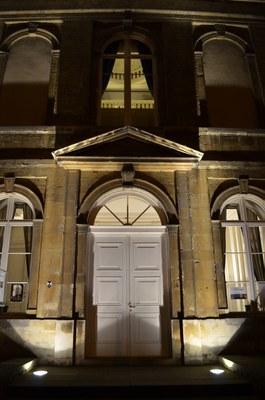 L'Abbaye de Dieleghem le soir