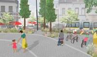 DW Magritte: Heraanleg openbare ruimte 'Op het scharnierpunt'