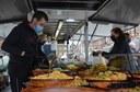 Opnieuw mix van voeding en niet-voeding op Jetse zondagsmarkt