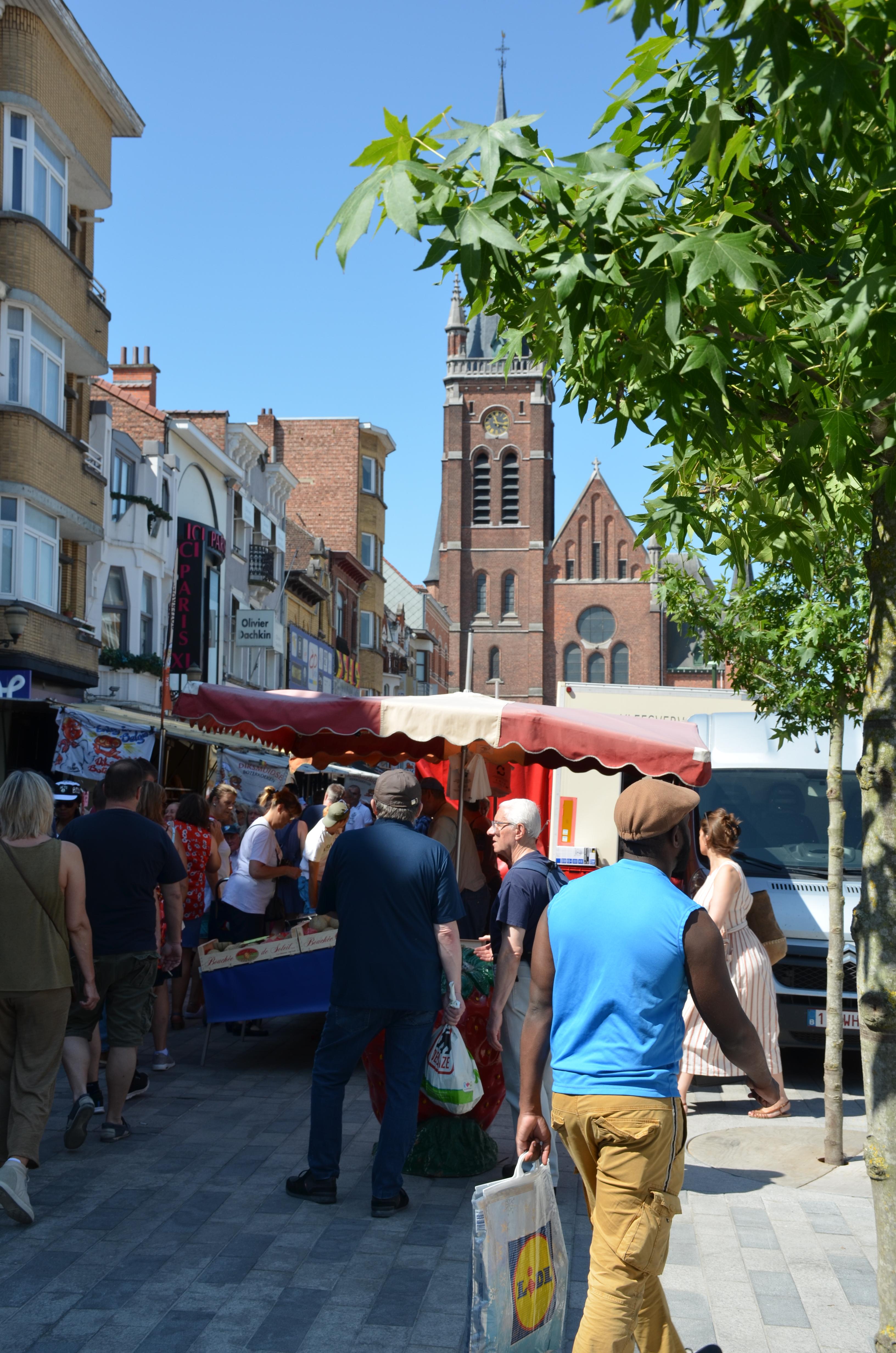 Jetse zondagsmarkt weer thuis op Spiegel