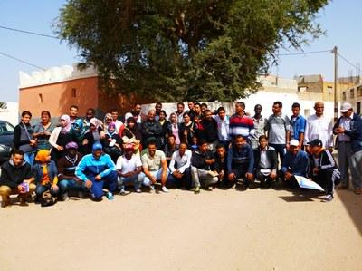 Sidi Bibi & Belfaa (vorming jongeren - groep)