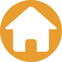 Tekening van een woning